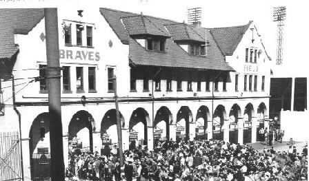 Braves Field Was The Home Of Boston From 1915 To 1952 After That Team Relocated City Milwaukee And Kept Name
